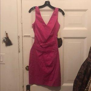 Nicole Miller atelier fuchsia dress